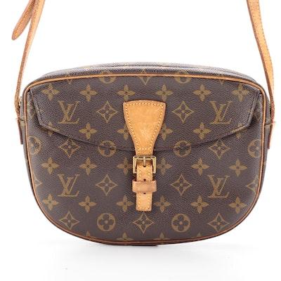 Louis Vuitton Jeune Fille MM in Monogram Canvas and Vachetta Leather