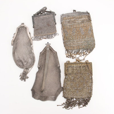 Whiting & Davis and Other Metal Mesh Evening Bags