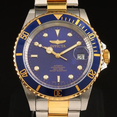 Invicta Pro Diver Two Tone Automatic Wristwatch