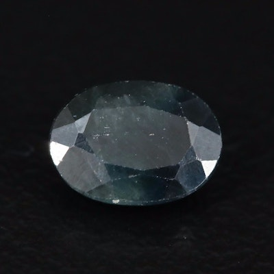 Loose 1.38 CT Oval Faceted Sapphire