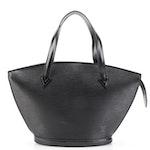 Louis Vuitton Saint Jacques PM Bag in Black Epi Leather
