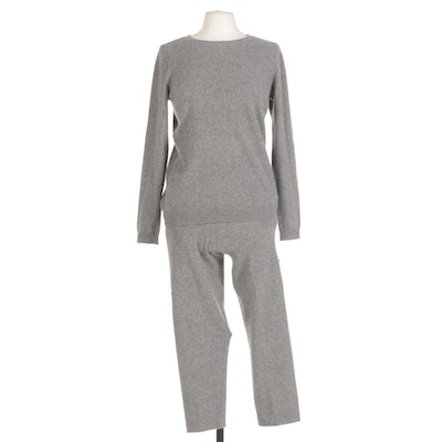Charter Club Cashmere Sweater and Pant Set