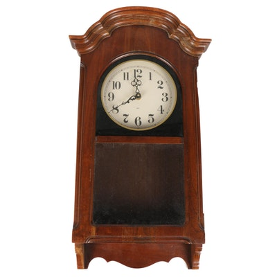 Howard Miller Clock Co. Wooden Wall Clock