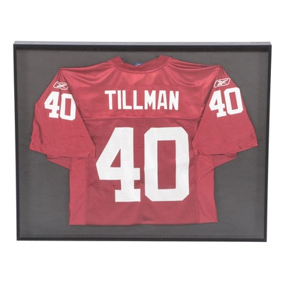 Pat Tillman #40 Arizona Cardinals Football Jersey, Framed
