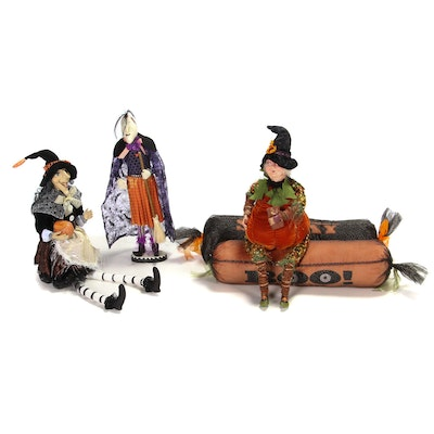 NBC Trading Inc. and Other Witch Figurines with More Halloween Themed Décor