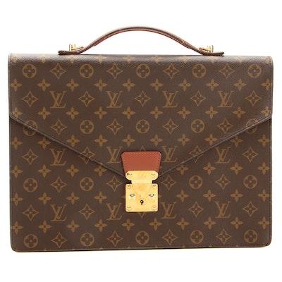 Louis Vuitton Serviette Conseiller Briefcase in Monogram Canvas