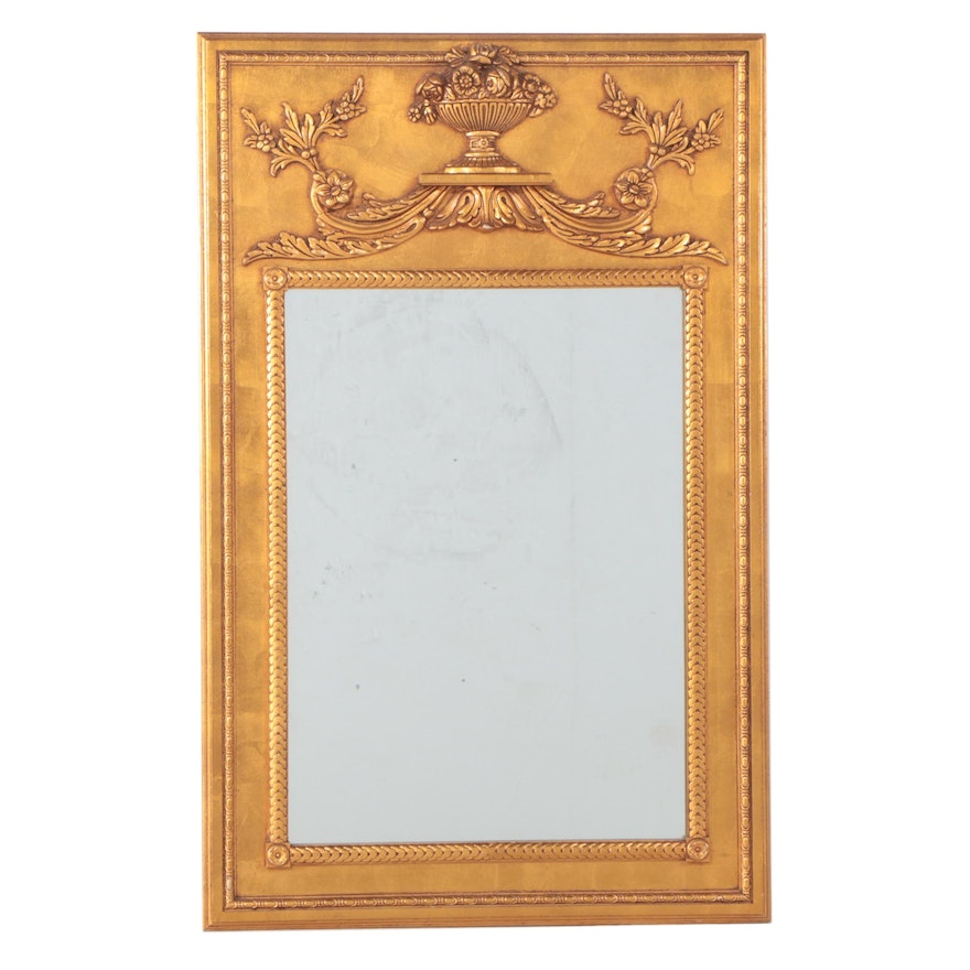 Neoclassical Style Giltwood Mirror, Mid to Late 20th Century