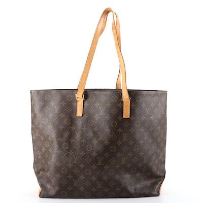 Louis Vuitton Cabas Alto Tote in Monogram Canvas and Vachetta Leather
