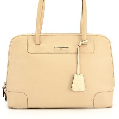 Gucci Beige Leather Shoulder Bag