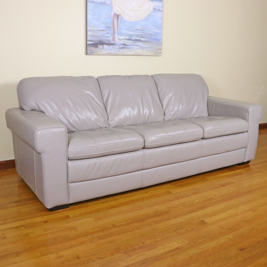HTL Furniture Leather Sofa