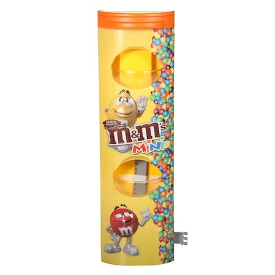 M&M's Minis Candy Plastic Store Display