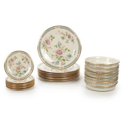 """Lenox """"Morning Blossom"""" Porcelain Dinnerware"""