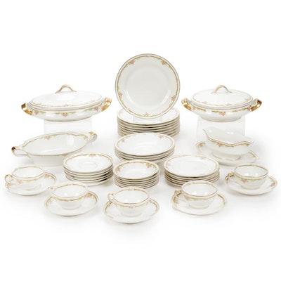 Theodore Haviland Schleiger Porcelain Tableware Set
