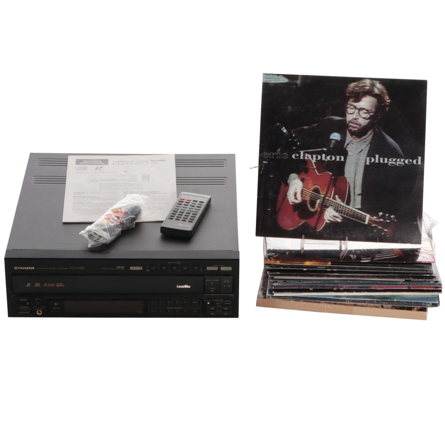 Pioneer Multi-Play CD CDV/LD Player with Laser Video and Music Discs