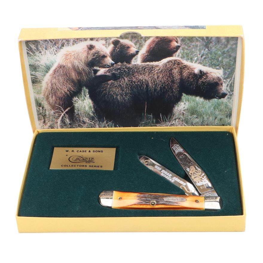 "Case XX Big Bear Series ""Kodiak"" Limited Edition Folding Knife"