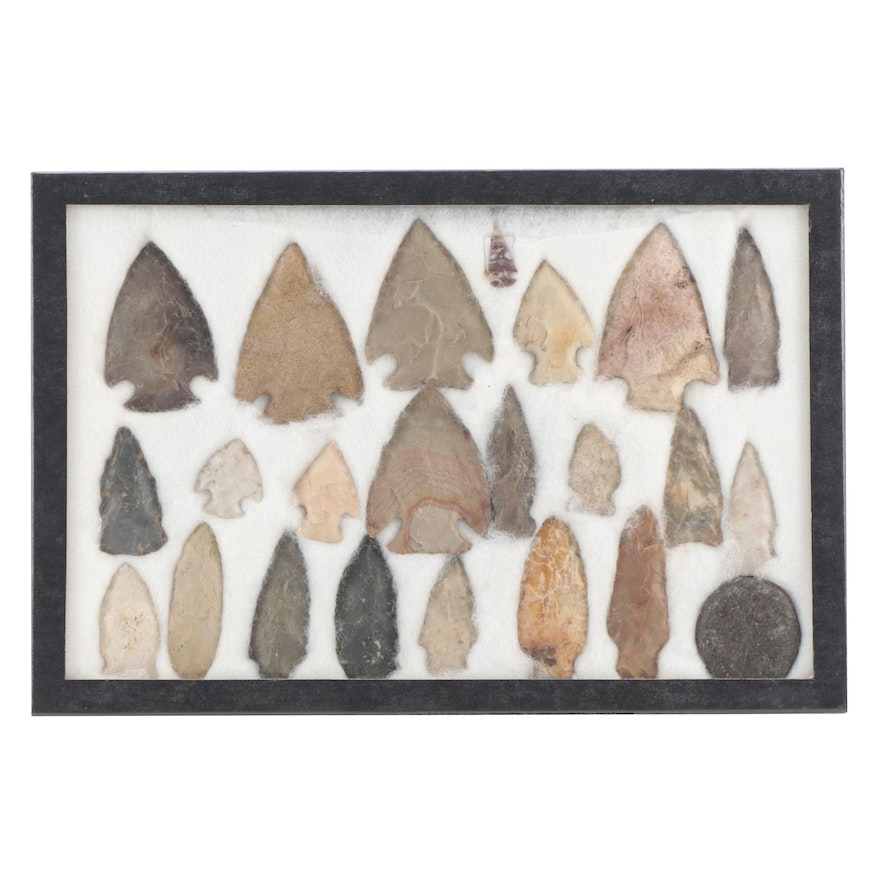 Native American Corner and Side Notched Projectile Points