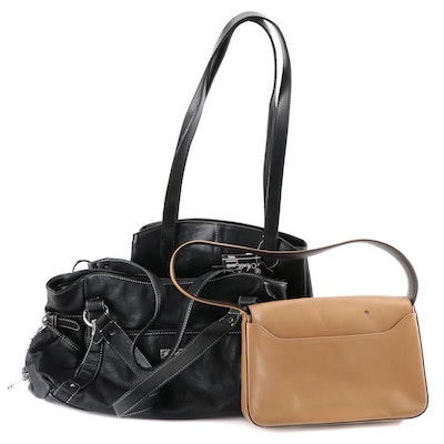 Grace Adele, Kenneth Cole, and Arte & Cuoio Leather Shoulder Bags