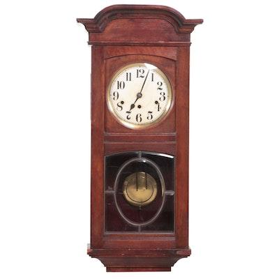 Kienzle Walnut Wall Clock with Chime, Early 20th Century