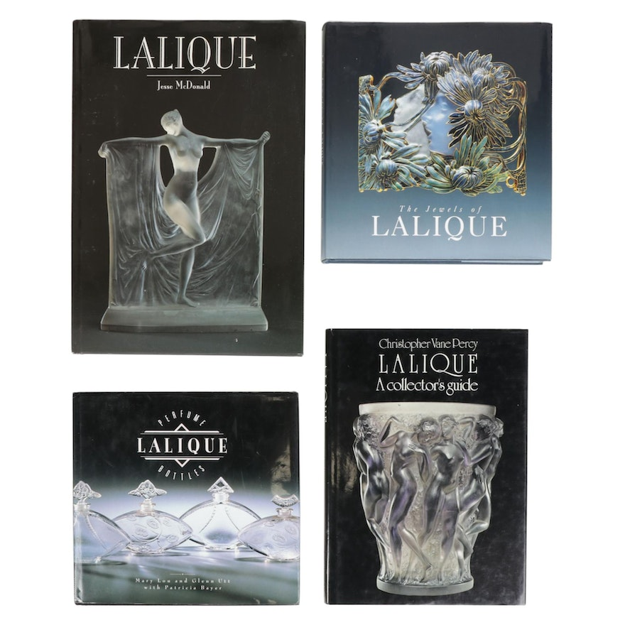 """""""Jewels of Lalique"""", Lalique Perfume Bottles and Other Collector Reference Books"""