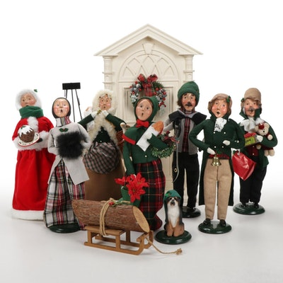 """Byers' Choice Ltd. """"The Carolers"""" Figurines and Set Accessories"""