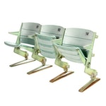 Riverfront Stadium Seats, Set of 3