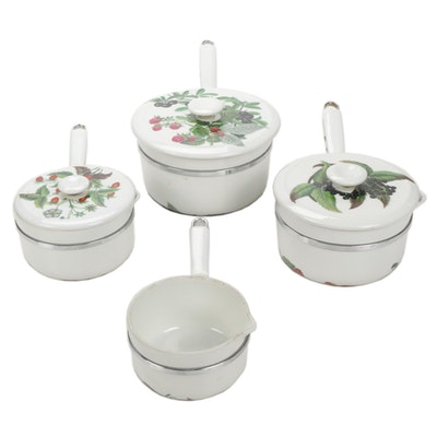 Fruegier French Porcelain Aluminite Pots