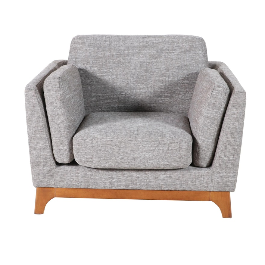 Article Upholstered Lounge Chair