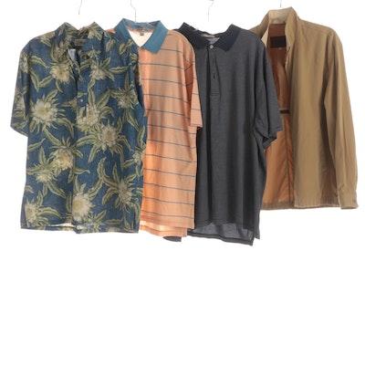 Men's Valstar Jacket with Reyn Spooner Hawaiian and Peter Millar Polo Shirts