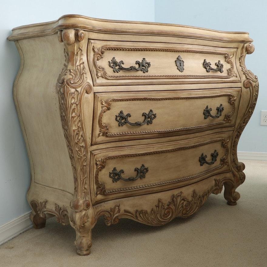 "Pulaski Furniture ""Chez Nicole"" Louis XV Style Chest of Drawers"