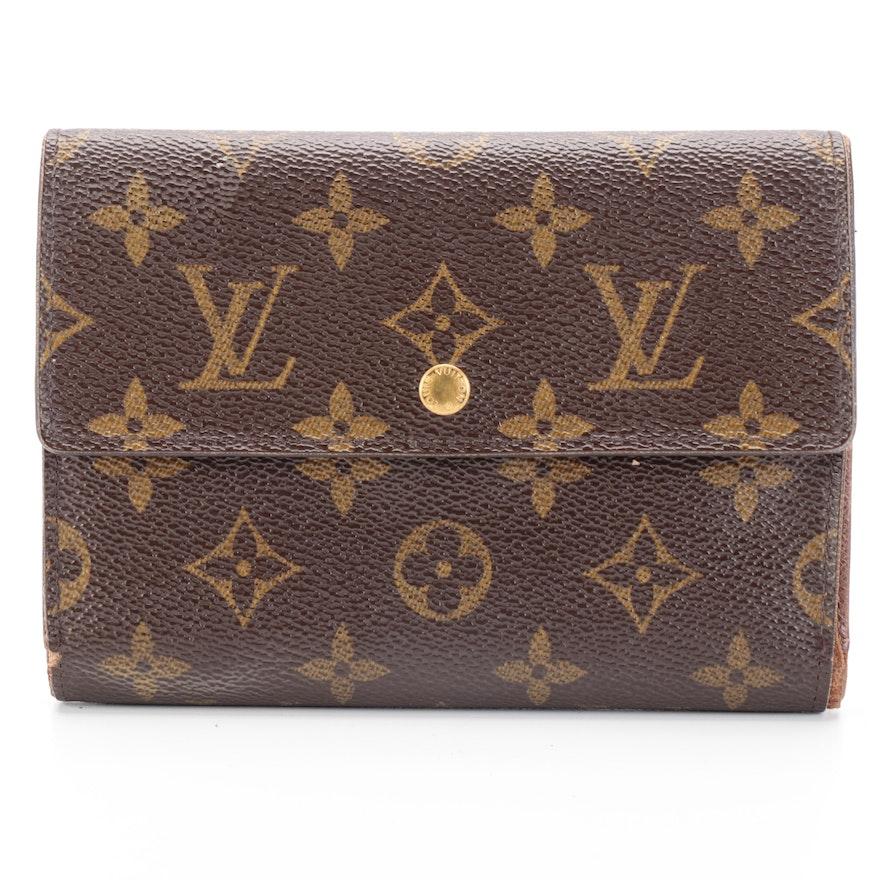Louis Vuitton Porte-Trésor Étui Papiers in Monogram Canvas