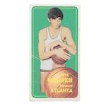 1970 Pete Maravich Topps #123 Atlanta Hawks Rookie Basketball Card