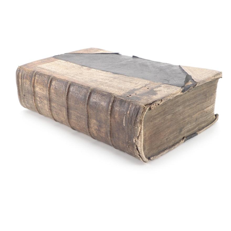 """Jurisprudentia forensis Romano-Saxonica"" by Benedikt Carpzov, 1644"