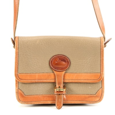 Dooney & Bourke All-Weather Leather Crossbody Bag