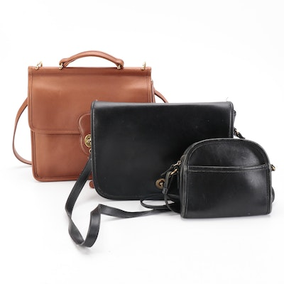 Coach Shoulder and Cross Body Bags in Leather