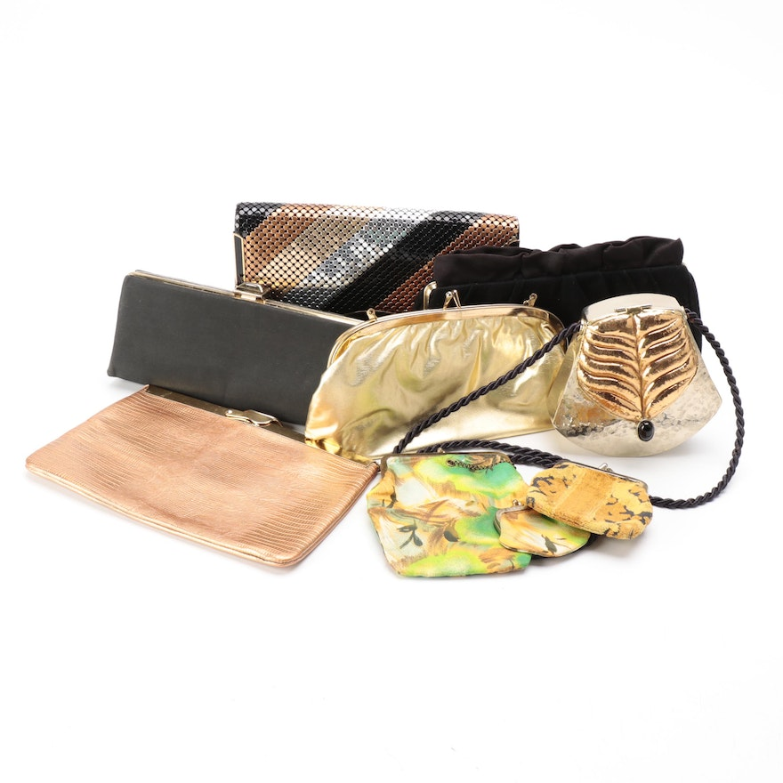 Hard Frame Shoulder Bags, Pouches, and Clutches