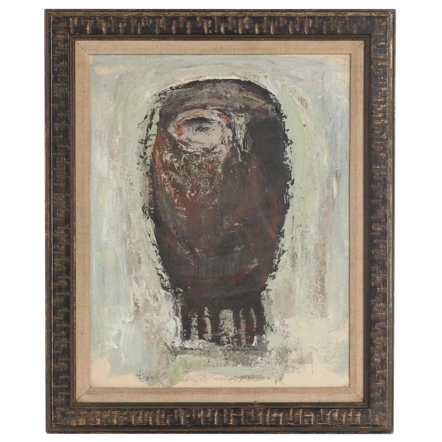 William Mangum Oil Painting of Owl