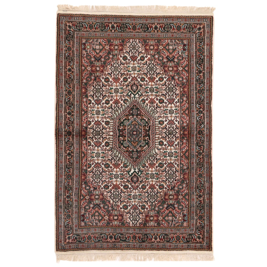 3'11 x 6'4 Hand-Knotted Persian Birjand Area Rug