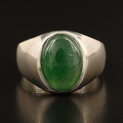 14K Jadeite Ring