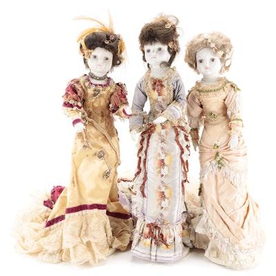 Victorian Style Soft Body Dolls
