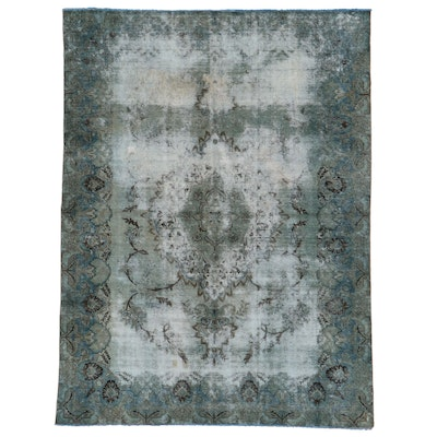 8' x 10'8 Hand-Knotted Persian Overdyed Area Rug