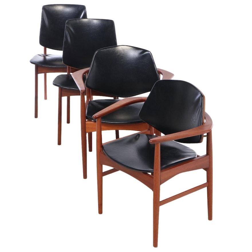 Arne Hovmand-Olsen Danish Modern Teak Dining Chairs