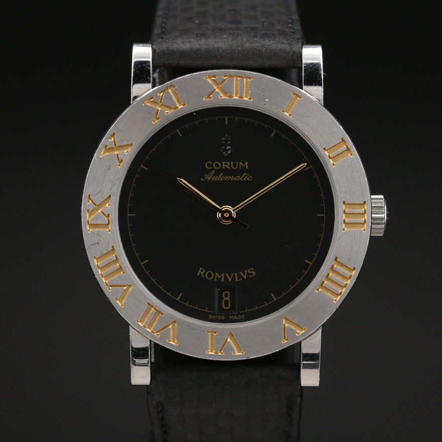 Corum Romulus Stainless Steel Automatic Wristwatch