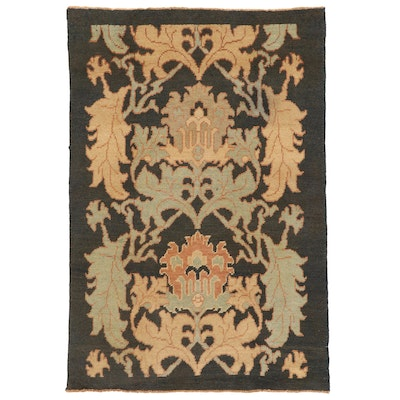 5' x 7'3 Hand-Knotted Turkish Donegal Area Rug