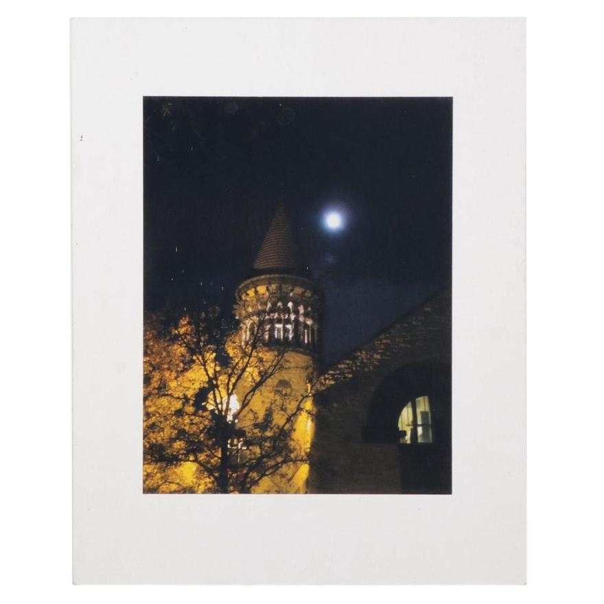 """Sandra L. L. Gaunt Digital Photograph """"Autumn Orton Hall,"""" 2012"""