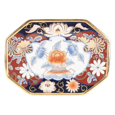 Chinese Imari Porcelain Platter