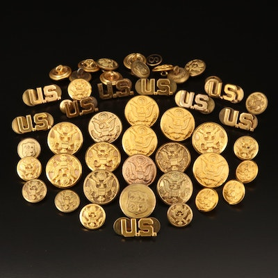 U.S. Military Buttons and Pins