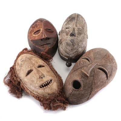 Luba Inspired Handcrafted Wood Masks and More