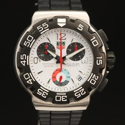 TAG Heuer Formula 1 Chronograph Stainless Steel Quartz Wristwatch