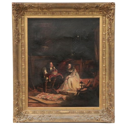Oil Painting Attributed to John Blake MacDonald, Late 19th Century