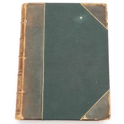 """Illustrated """"Our Mutual Friend"""" by Charles Dickens, 19th Century"""